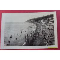 """Крым Ялта """"Городской пляж""""  1951 год"""