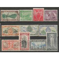 Новая Зеландия. Окончание Второй Мировой Войны. 1946г. Mi#282-92. Серия.