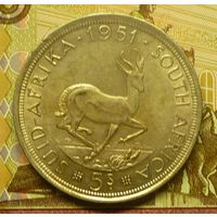 ЮАР  5 шиллингов 1951 г