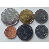 Никарагуа 6 монет UNC