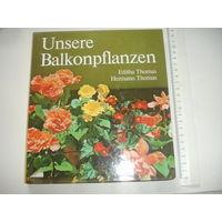 Книга на немецком языке Балконные цветы