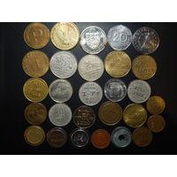 28 разных жетонов с 1 рубля