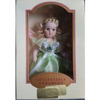 Кукла фарфоровая сувенирная