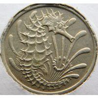Сингапур 10 центов 1980 год