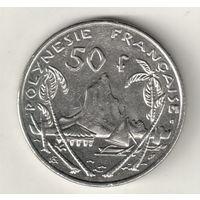 Французская Полинезия 50 франк 2001