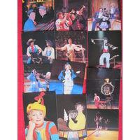 Календари. 1987.Цирк. 12 шт.