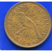 Новая Зеландия 1 пенни 1944 , Georg VI