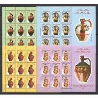 2006 Румыния Посуда Керамические кувшины Археология 4кб