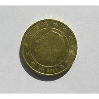 10 евроцентов, Бельгия 2001г.