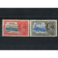 GB Колонии Омнибус 1935 Ямайка GV #111,112