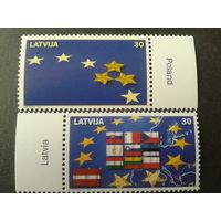 Латвия. 2004г. Вступление в Европейский союз.