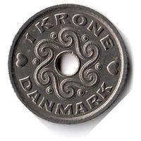 Дания. 1 крона. 1997 г. Единственное предложение данного года на АУ
