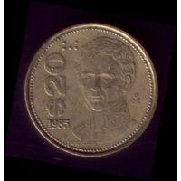 20 Песо 1985 год Мексика