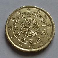 20 евроцентов, Португалия 2002 г., AU