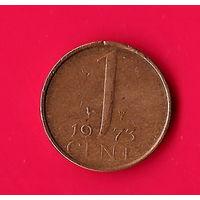 49-14 Нидерланды, 1 цент 1973 г.