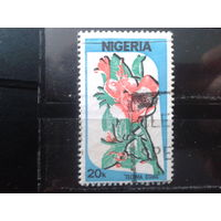 Нигерия 1986 Стандарт, цветы