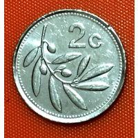 102-08 Мальта, 2 цента 1993 г.