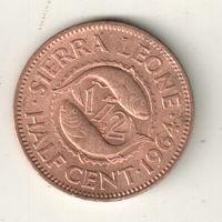 Сьерра-Леоне 1\2 цент 1964