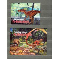 Папуа Новая Гвинея 2004 Prehistoric Animals блоки