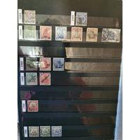 Альбом А-4 с марками Германии до 1938 года. Большая коллекция.  Без повторов. См. фото.