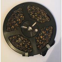 Желтый 5050 светодиодная лента. С коннектором. 5 метров. 60 led/m В силиконе. 5 метров. 60 led/m ЦЕНА за бобину .Yellow В силиконе.