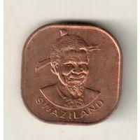 Свазиленд 2 цент 1982