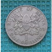 Кения 1 шиллинг 1975 года, UNC