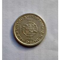 Португальский Мозамбик 5 эскудо 1960 г (серебро) !!!РАСПРОДАЖА PORTUGAL!!! СТАРТ С 2,15!!!
