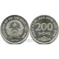 Вьетнам 200 dong 2003