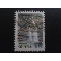 Гана 1991 стандарт, водопад