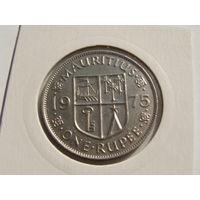 Маврикий. 1 рупия 1975 год КМ#35