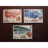 Испания 1980 г.Городской транспорт.