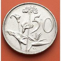 118-02 ЮАР, 50 центов 1971 г.