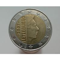 2 евро 2007 Люксембург