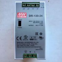 Источник питания 24В, 5А, 120Вт. На DIN рейку. Дин. Блок Mean Well. 24 Вольт. 5 Ампер, 120 Вт. DR-120-24