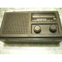 """Радиоприемник """"Sokol 404"""", рабочий."""