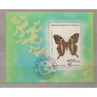 Бабочки блок Малайзия 1984