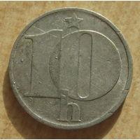 Чехословакия 10 геллеров 1983 год