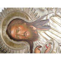 Икона Иоанн Предтеча. Креститель Господа. Размер. 19 век.RRR.