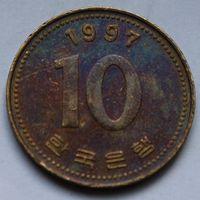 10 вон 1997 Корея