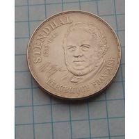 Франция 10 франков 1983г Стендаль