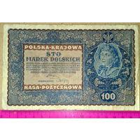100 марок 1919г.