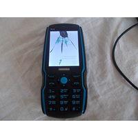 Телефон B36, разбит экран, без батареи, на запчасти.