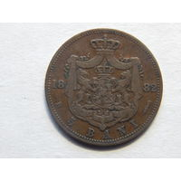 Румыния 5 бани 1882г