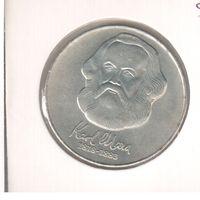 20 марок 1983 года Карл Маркс в холдере 25