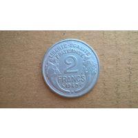 """Франция 2 франка, 1949""""B"""". (U)"""