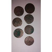 Монетки вкл 7 шт (л4)