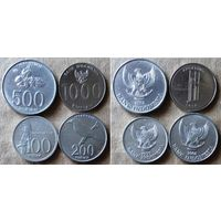 Индонезия. Набор монет (1999-2008гг)