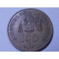 Новая Каледония 100 франков 1976 г.