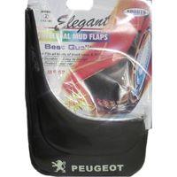 Брызговики для автомобиля Peugeot из пластика MF52PG (к-т 2шт.)